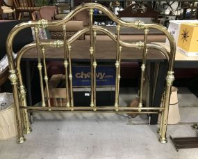 Queen Size Brass Bed