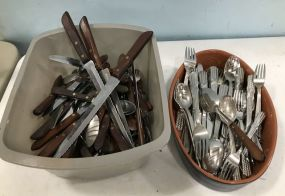 Town & Country Flatware Set and Stainless Flatware