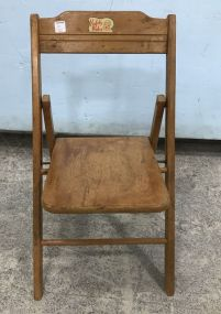 Vintage Safety Baby Fold Out Chair