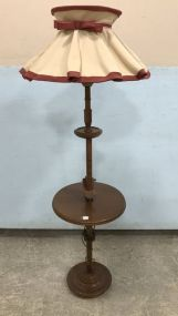 Wood Table Lamp Stand