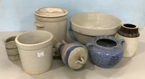 Collection of Stoneware Pottery