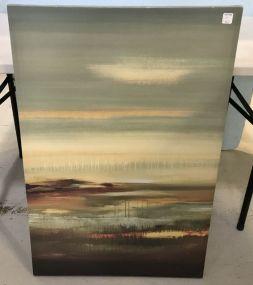 Modern Decor Print on Canvas Art