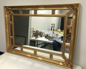Modern Gold Gilt Wall Mirror