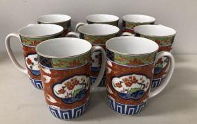 Modern Imari Mugs