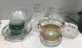 Clear Glassware Lot