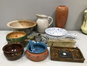 Collection of Potter and Porcelain