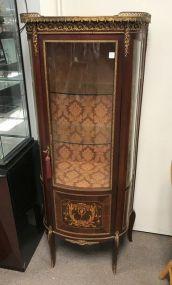 Antique French Empire Curio Cabinet