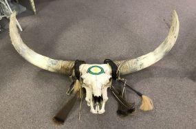 Old Texas Longhorn Skull