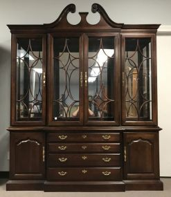 Thomasville Break Front China Cabinet