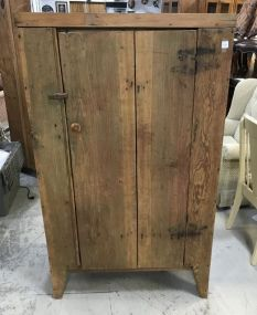 Early Primitive Pie Cabinet