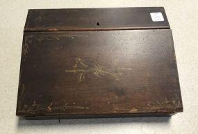 Antique Mahogany Lap Desk