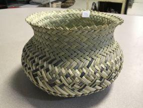 Tarahumara Double Agave Cactus Basket