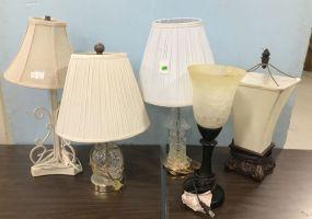 Five Decorative Small Desk Lamps