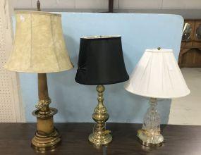 Three Decorative Lamps