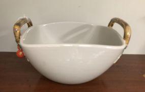 Porcelain Modern Salad Bowl