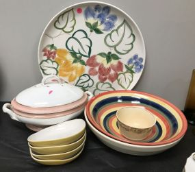Decorative Hand Painted Ceramic Pottery
