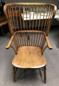 Very Nice Primitive Windsor Style Arm Chair