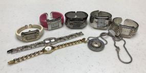 Group of Wrist Watches