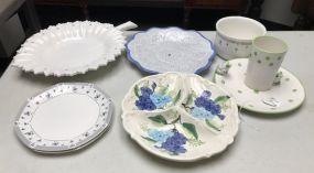 Ceramic Pottery Plate