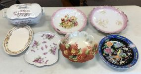 Group of Hand Painted Decorative Plates