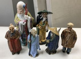 Group of Collectible Asian Figurines