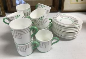 Wedgwood Porcelain Cups and Saucers