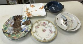 Collector Plates and Hand Painted Plates