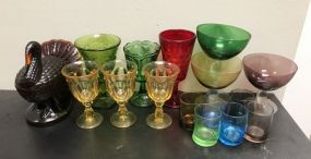 Assorted Group of Glass Pieces
