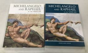 Michelangelo and Raphael in the Vatican Books