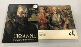 Cezanne and Oskar Kokoschka Books