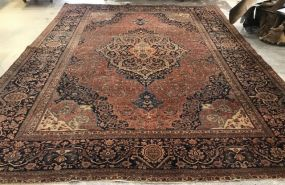 Large Hand Made Persian Area Rug