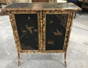Oriental Style Bamboo Cabinet