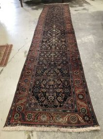 Long Hand Woven Persian Low Pile Runner