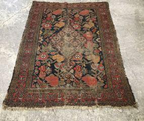 Vintage Wool Persian Area Rug