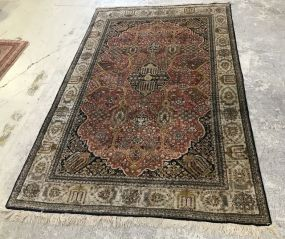 Hand Woven Silk Persian Area Rug
