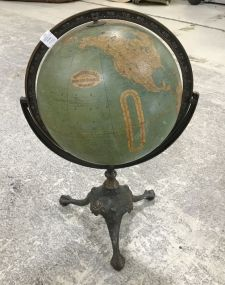 Rand McNally & Co Twelve Inch Terrestrial Globe