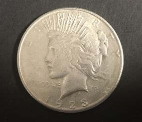 1923 Peace Liberty Dollar