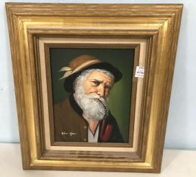 Artistic Interiors Portrait Painting of Man