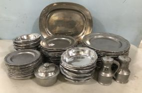 The Wilton Company Pewter Set