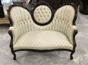 Kimball Furniture Company Reproduction Victoria Love Seat