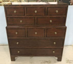 Antique Reproduction Commode Haute High Dresser