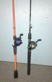 Bass Pro WM05HB and Quantum Escalade HD