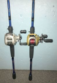 Bass Pro PRL05HB and Mettle H20 Xpress