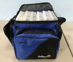 Plano Bill Dance Tackle Bag with Collection of Tackle