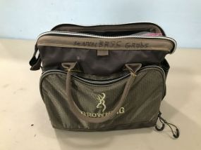 Browning Tackle Bag with Lures and Grubs