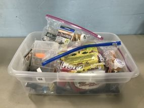 Plastic Container of Fishing Tackle