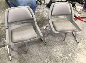 Two Folding Boat Seats