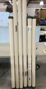 Six Cabela's Fishing Rod Tubes