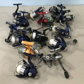 Group of Spin Cast Reels
