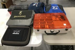 6 Tackle Boxes and Bags